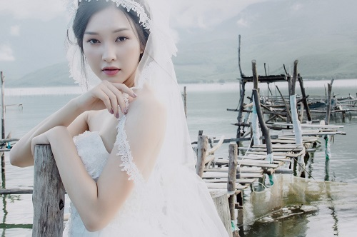 """""""Nàng thơ xứ Huế"""" gây sốt Hoa hậu VN 2016 bất ngờ tái xuất - 1"""
