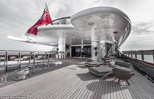 Ngắm những siêu du thuyền sang trọng nhất thế giới - 6