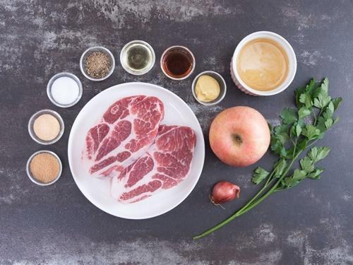 Thịt lợn nướng táo thơm phức, lạ miệng - 2
