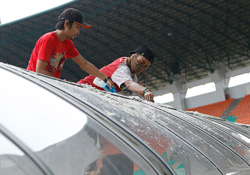 AFF Cup: SVĐ đại chiến Indonesia - Việt Nam như một công trường - 4