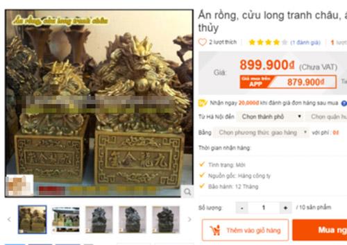"""Ấn rồng giống ở Nghệ An """"mua dễ như rau"""" - 2"""