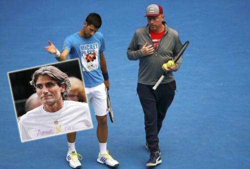HLV Becker dọa bỏ Djokovic vì chuyên gia tâm lý - 1