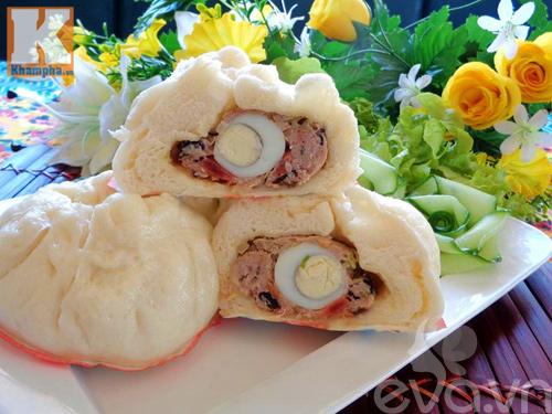 Bánh bao nhân thịt thơm ngon cho bữa sáng - 11