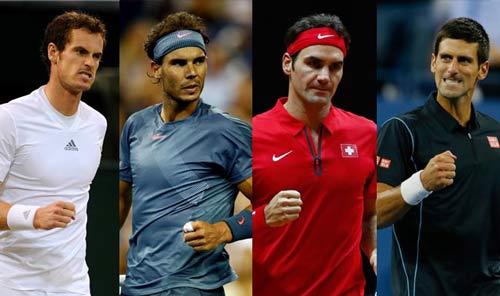 Nadal-Federer-Murray-Djokovic ra đi, ai sẽ lên ngôi? - 1