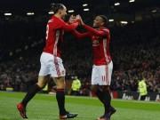 """Bóng đá - Mourinho dùng """"chiêu độc"""" giờ nghỉ, MU thắng tưng bừng"""