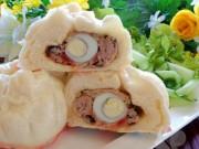 Bánh bao nhân thịt thơm ngon cho bữa sáng