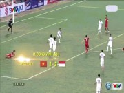 Bóng đá - Việt Nam đấu Indonesia: Công Vinh vô lê và những siêu phẩm