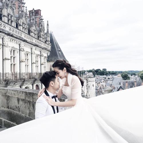 """Choáng ngợp không gian tiệc cưới của """"cô gái thời tiết"""" Mai Ngọc - 1"""