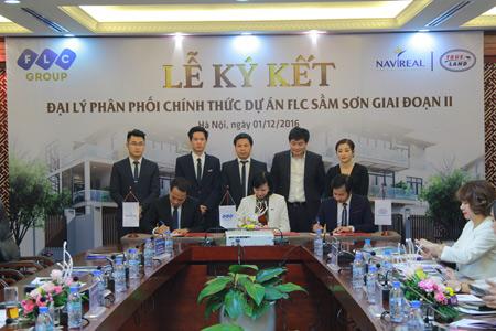 """Tập đoàn FLC """"bắt tay"""" Trueland phân phối dự án FLC Sầm Sơn - 1"""