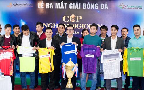 Giải bóng đá tranh CUP nghemoigioi.vn chính thức khởi động - 3