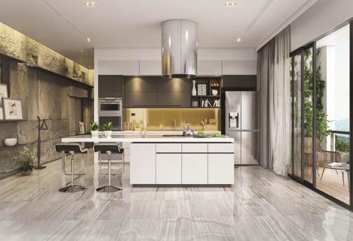 """4 lý do tủ lạnh mặt thép """"lên ngôi"""" trong thiết kế bếp hiện đại. - 160478"""