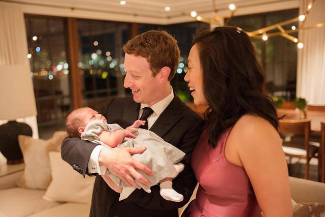 Ngưỡng mộ cách ông chủ Facebook chăm con - 1