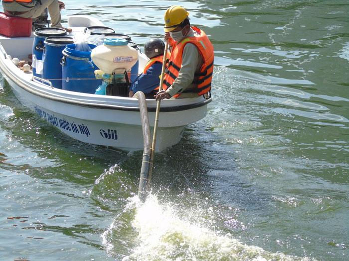 Cận cảnh công nghệ độc quyền làm sạch hồ của Hà Nội - 4