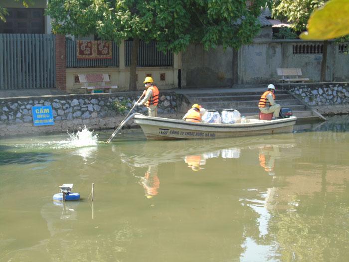 Cận cảnh công nghệ độc quyền làm sạch hồ của Hà Nội - 7