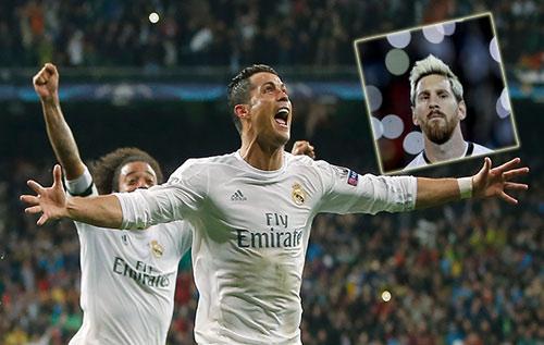 """Siêu kinh điển Barca - Real: Bóng chưa lăn, CR7 đã """"thắng"""" Messi - 1"""