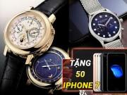 Tặng 50 Iphone 7 khi mua đồng hồ tại Đăng Quang Watch