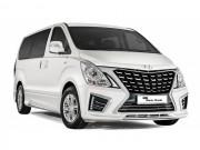 Hyundai Starex 2017: Sang trọng và hiện đại hơn