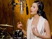 Lệ Quyên rơi nước mắt khi thu âm nhạc Lam Phương
