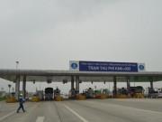 Tin tức trong ngày - Dừng hoạt động một trạm thu phí trên cao tốc Pháp Vân-Ninh Bình