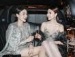 """Ngọc Duyên, Lê Hà """"cưỡi"""" limousine dự show Victoria's Secret"""