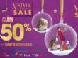 300 thương hiệu đồng loạt giảm giá 50% mùa Noel tại VStyle Private Sale