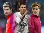 Cầu thủ hay nhất FIFA: Griezmann đấu Messi, Ronaldo