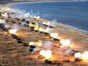 Triều Tiên rầm rộ nã pháo phản đối trừng phạt của LHQ