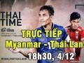 TRỰC TIẾP bóng đá Myanmar - Thái Lan: Đẳng cấp Dangda