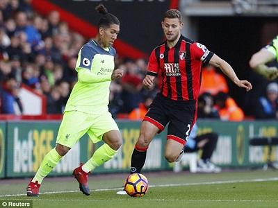 Chi tiết Bournemouth - Liverpool: Nổ tung phút bù giờ (KT) - 4