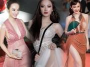 """Loạt váy áo sexy """"bạo"""" nhất năm của Angela Phương Trinh"""