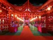 Đám cưới nghìn mâm phong cách Hồng lâu mộng náo loạn Bắc Kạn