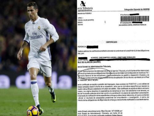 Phía Ronaldo tuyên bố: Không trốn thuế, sợ gì tù tội - 2