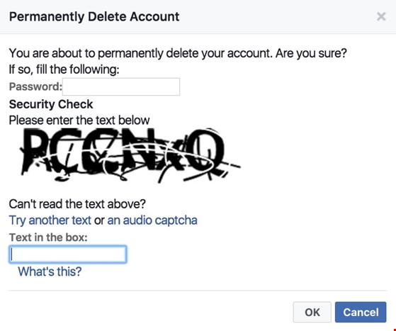 Mẹo xóa tài khoản Facebook vĩnh viễn - 2