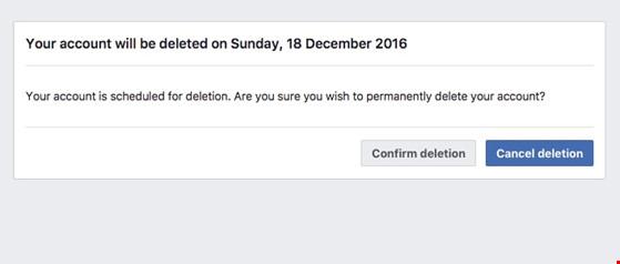 Mẹo xóa tài khoản Facebook vĩnh viễn - 4