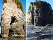 """Thế giới - Đá Voi nổi tiếng của New Zealand mất """"vòi"""" sau động đất"""