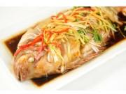 Gợi ý nấu món cá diêu hồng hấp Hong Kong cho ngày tết