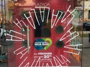 La Zất Đã tại booth Lazada - giải trí rộn rã, shopping thả ga
