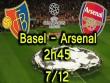 Basel – Arsenal: Mong manh mơ ngôi đầu