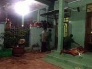 An ninh Xã hội - Đang ngồi trong nhà xem tivi bị truy sát tử vong