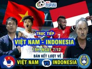 TRỰC TIẾP bóng đá Việt Nam - Indonesia: Cú đúp lịch sử cho Công Vinh?