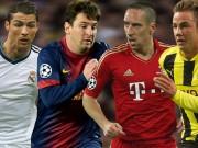 Ứng viên vô địch Cúp C1: Barca vẫn số 1, trên Real