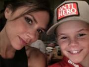 Cậu bé 11 tuổi nhà Beckham có giọng hát như thiên thần