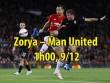 Zorya – MU: Giật vé né đòn, Tottenham chờ đón
