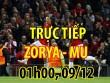 Chi tiết bóng đá Zorya - MU: Nhân đôi cách biệt (KT)