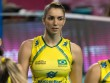 Bóng chuyền: Nữ thần rực lửa Brazil chắn bóng hay nhất 2016
