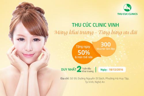 Thu Cúc Clinic Vinh tặng ngay 50% phí dịch vụ mừng khai trương - 7