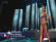 """""""Chiến binh"""" châu Á diễn bikini xuất sắc tại Miss Universe"""