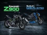 """Vì sao Suzuki GSX-S750 khiến Kawasaki Z900 """"đau đầu""""?"""