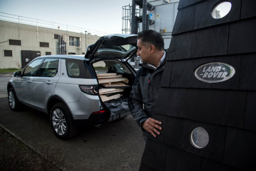 Land Rover thiết kế phòng di động cho Discovery Sport - 5