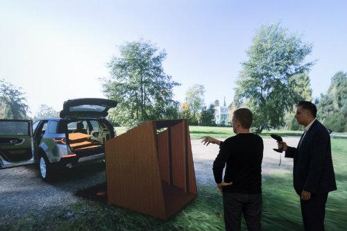 Land Rover thiết kế phòng di động cho Discovery Sport - 4